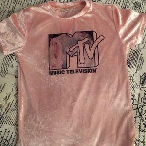 MTV Velvet Shirt